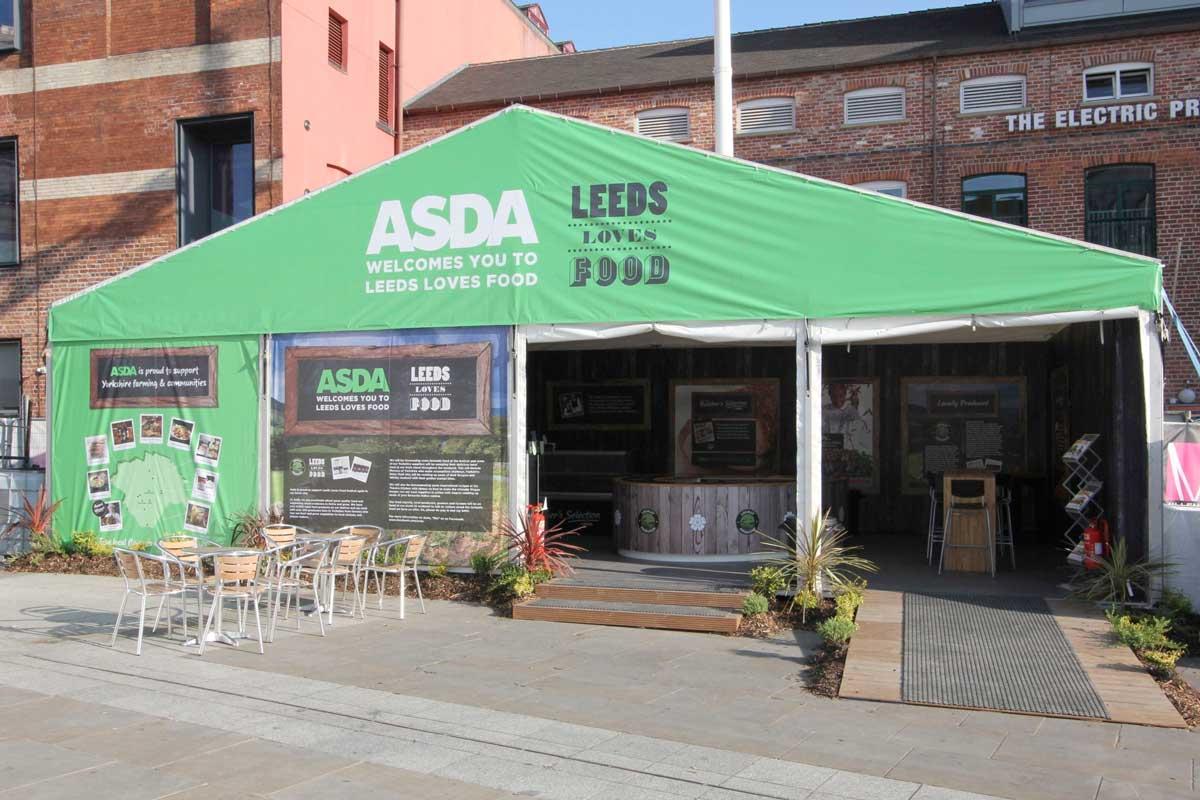 Exhibition Stand Leeds : Leeds loves food event elm uk