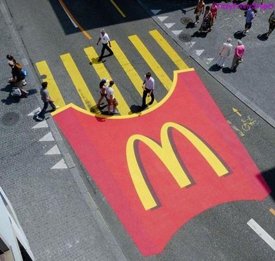 McDonalds Floor Graphics