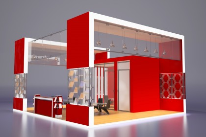 Exhibition Stand Sketch : Exhibition stand buy this stock illustration and explore similar